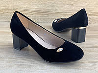 Туфли женские 6 пар в ящике черного цвета 36-41, фото 1