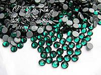 Термо стразы Lux ss20 Emerald (5.0mm) 1440шт, фото 1