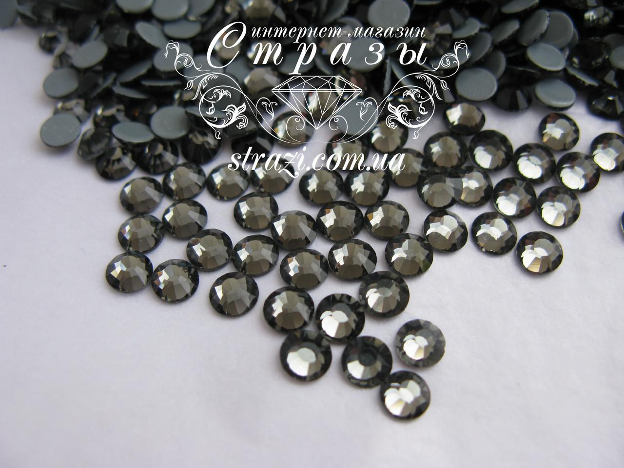 Термо стразы Lux ss20 Black Diamond (5.0mm) 1440шт