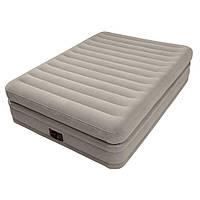 Надувная кровать Intex 64446 встроенный электронасос Двухспальная