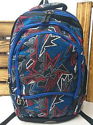 Школьный прочный рюкзак из плотного непромокаемого материала, на 4 отдела, унисекс