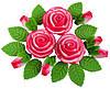 """Набір """"Букет троянд"""" (1*36)"""