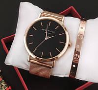 Часы Rosefield (rose gold) + браслет в подарок - гарантия 6 месяцев