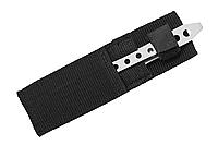 Серебряный метательный нож - прочный метал (HK-12)
