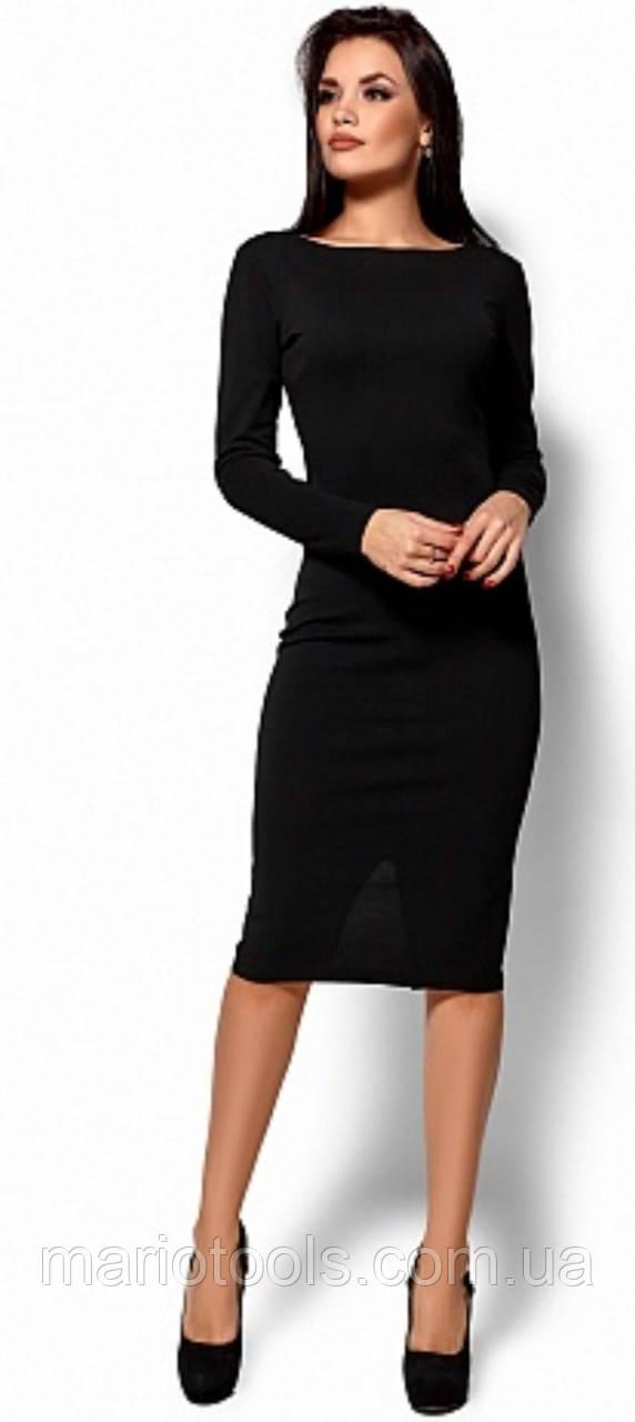 РАСПРОДАЖА!  Приталенное платье с вырезом на спинке