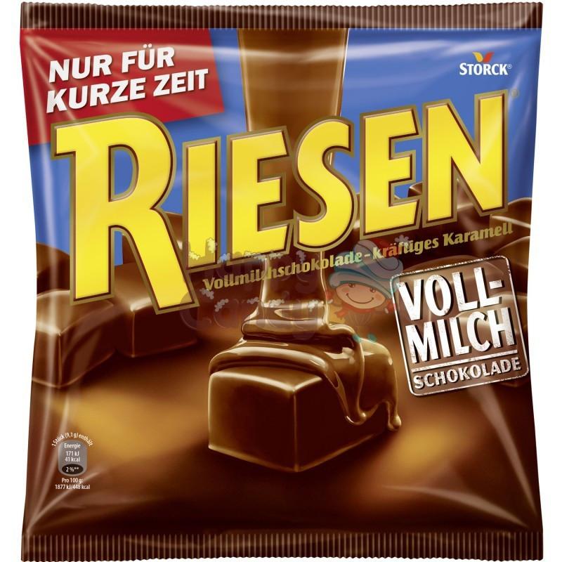 Шоколадная карамель в молочном шоколаде Riesen