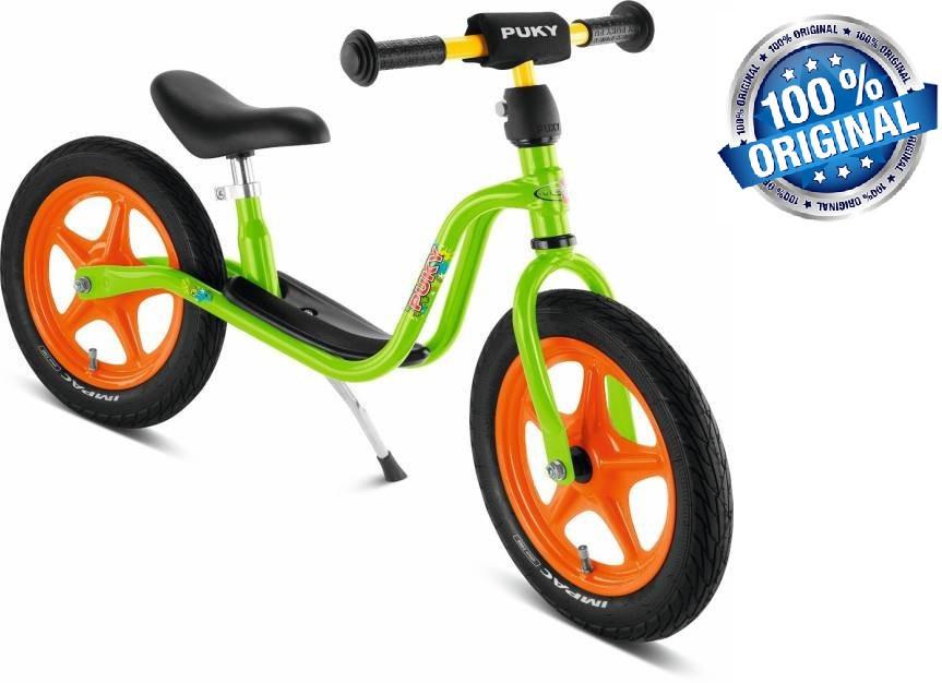 Беговел велобег детский PUKY LR 1 L (Германия), салатовый/оранжевый