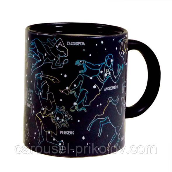 Чашка хамелеон звездное небо (созвездие)