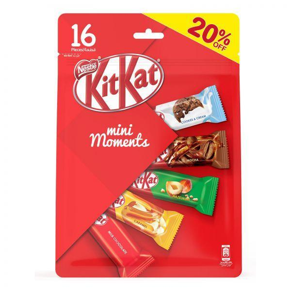 Миниатюрные шоколадки Kit Kat mini Moments