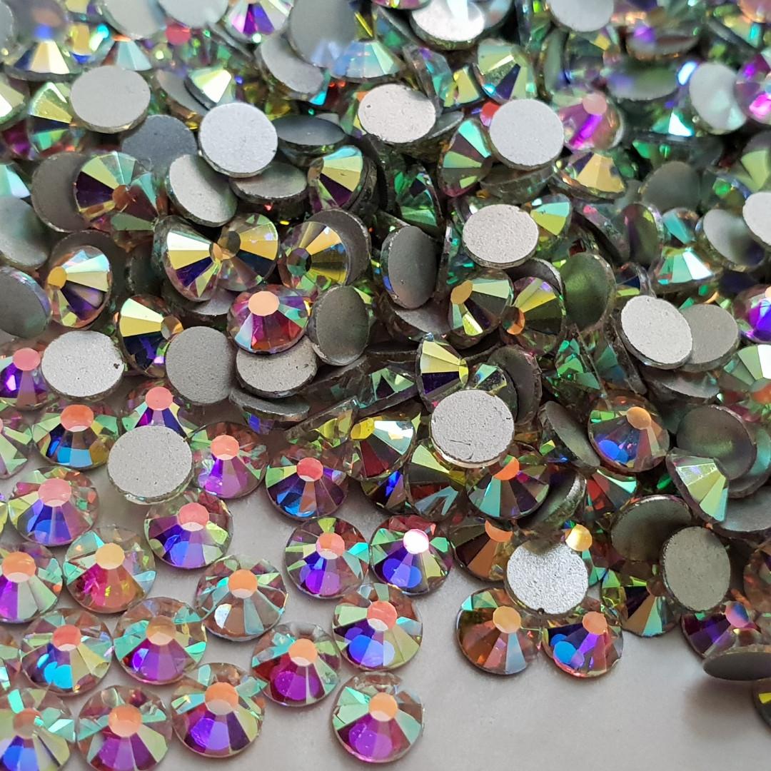 Стразы ss16 Crystal AB PREMIUM (4,0мм) 100 гросс 14400шт