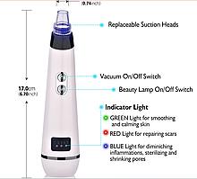 Аппарат для  вакуумной чистки пор HailiCare JHF-09  +световая терапия+подарок