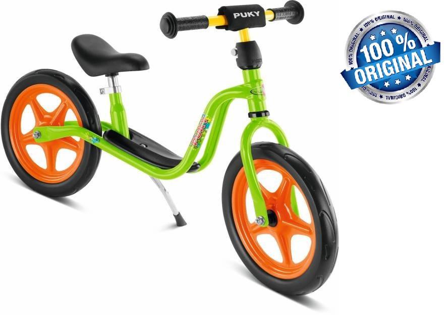 Беговел велобег детский PUKY LR 1 (Германия), салатовый/оранжевый