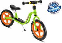 Беговел велобег детский PUKY LR 1 (Германия), салатовый/оранжевый, фото 1