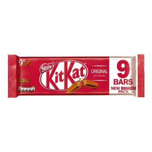 Батончики Kit Kat Milk Choc Упаковка 9 Bars