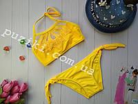 Купальник раздельный со съемными вкладышами для девочки 28-40р, фото 1