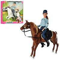 Лялька DEFA 8420 з конем