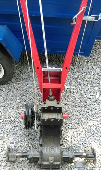 Редуктор водянки ВТ1210 (БЕЗ КОЛЕС, редуктор с ручками, подставка двиг.)