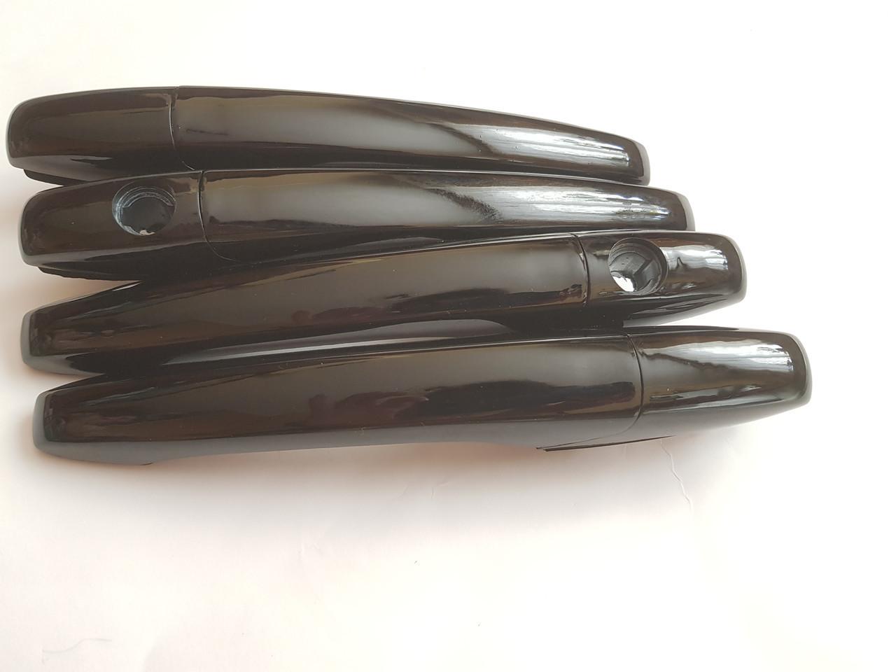 Евроручки Ваз 21099 черные глянец 606