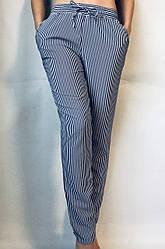 Женские летние штаны N°17 П/1 (синяя)