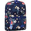 Рюкзак городской Bagland Молодежный mini 8 л цветы женский детский 00508664 - Фото