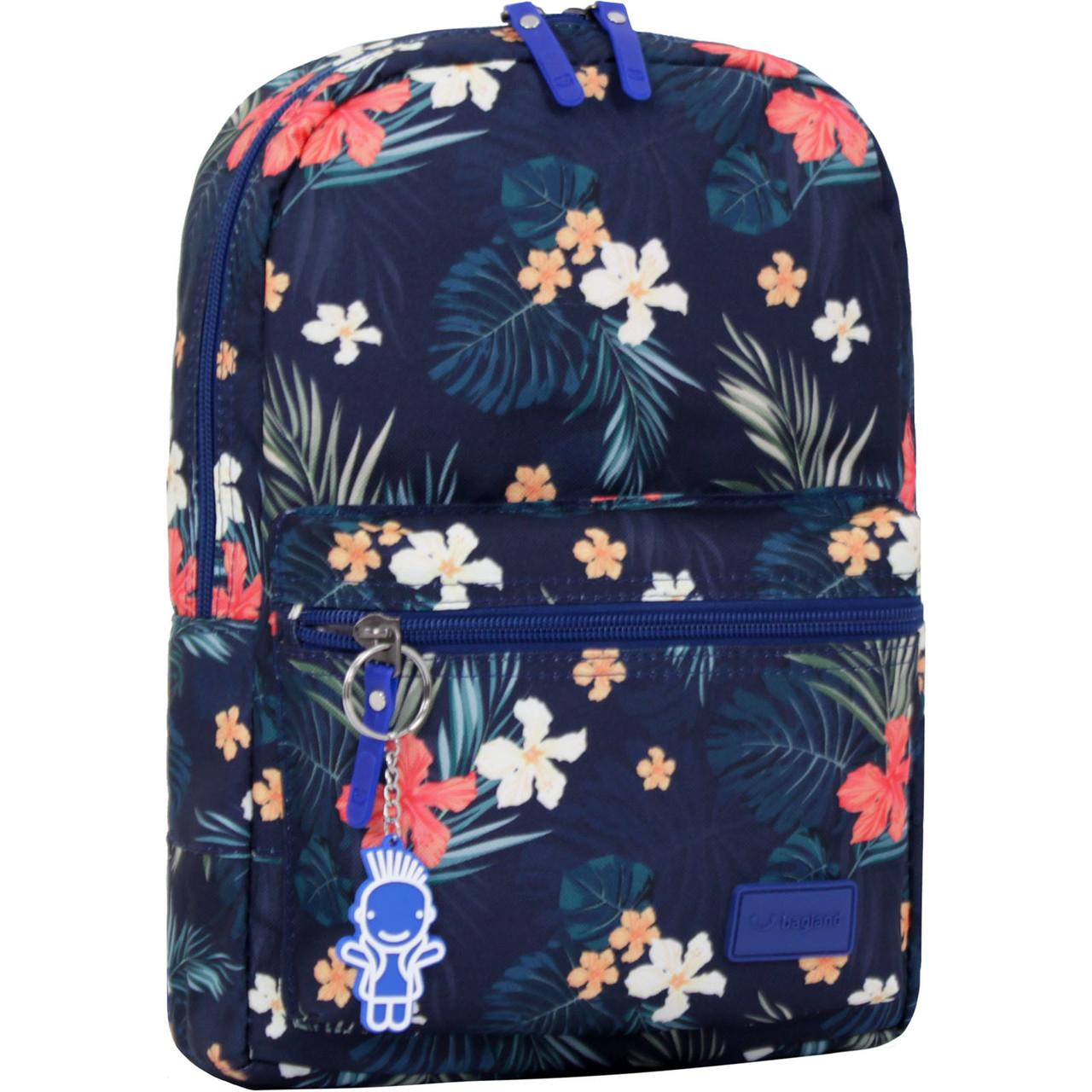 Рюкзак городской Bagland Молодежный mini 8 л цветы женский детский 00508664