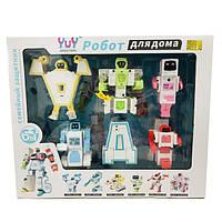 Робот трансформер Алфавит 6 в 1 Робот для дома