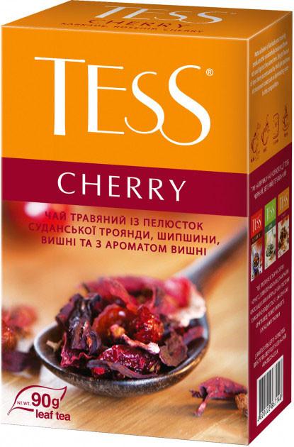 Чай из трав с каркаде и шиповником TESS Cherry 90 гр.
