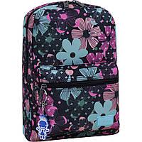 Рюкзак городской Bagland Молодежный mini 8 л совы цветы женский детский 00508664