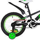 Детский велосипед Formula Jeep 16 дюймов черно-салатный, фото 6