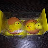 Пасхальный декор - сувенирный набор из цыплят