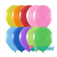 """Воздушные латексные шары МТ5-Mix 5""""(12,5см) Пастель Ассорти В упак:100 шт. Пр-во:""""Multitex"""" Китай"""