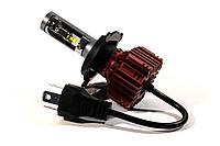 Комплект LED ламп HeadLight R2 H4 (P43t) 50W CREE 12V 5000Lm с пассивным охлаждением