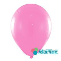 """Воздушные шары МТ5-03 5""""(12,5см) Розовый тёмный Пастель В упак:100 шт. Пр-во:""""Multitex"""" Китай"""