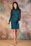 Платье-рубашка женское размеры  44.46.48.50. Украина