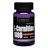 Жиросжигатель Ultimate Nutrition L-Carnitine 1000 mg 30 tabs
