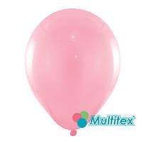 """Воздушные шары МТ5-03 5""""(12,5см) Розовый нежный Пастель В упак:100 шт. Пр-во:""""Multitex"""" Китай"""
