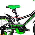 Детский велосипед Formula Stormer 16 дюймов черный, фото 5