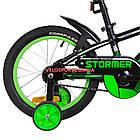 Детский велосипед Formula Stormer 16 дюймов черный, фото 6