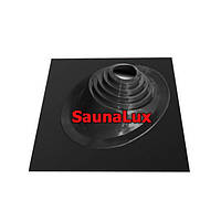 Проход крыши для дымохода SaunaLux ЧУ450 угловой 300-450
