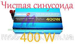 Преобразователь напряжения инвертор 12v в 220V Power Inverter Powerone 400W с чистой синусоидой AC/DC
