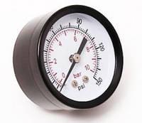 """Инидикатор тиску 1/4"""" 10Bar (Д 50мм)"""