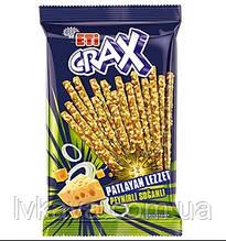 Крекер  ETi CRAX sticks с сыром и луком , 50 гр