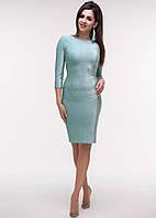 РАСПРОДАЖА!  Эффектное платье из люрекса, фото 1