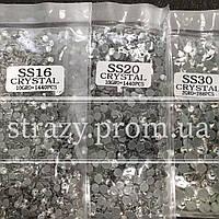 Набор термо-страз ss16, ss20, ss30 Crystal Premium Hong Kong
