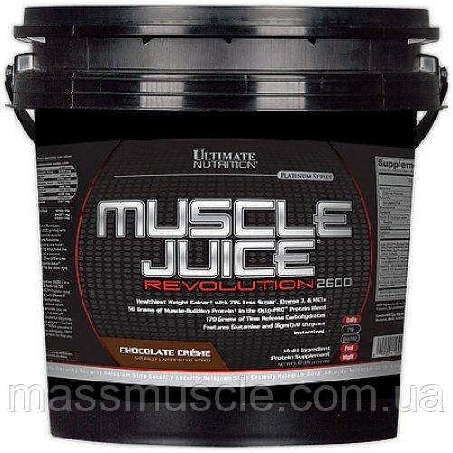 Гейнер Ultimate Nutrition MUSCLE JUICE 2600 Revolution 5000 g