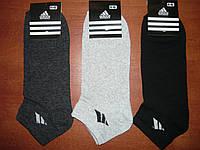 """Мужской носок """"в стиле"""" Adidas. Короткий. р. 41-45. Ассорти., фото 1"""