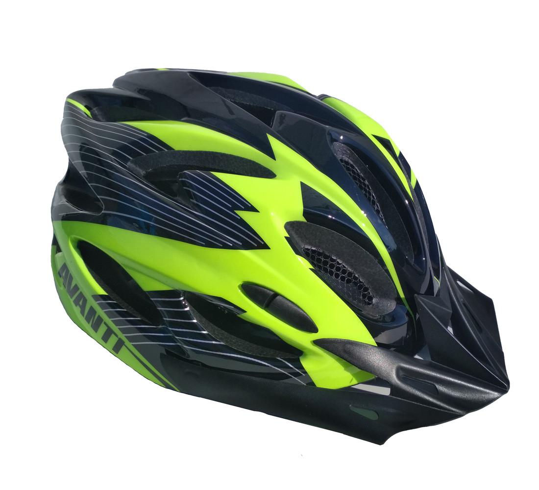Шлем Avanti AVH-02 M (55-61) черно/зеленый