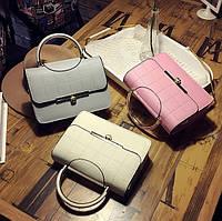 Женская сумка с ручкой разные цвета