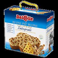 Пасхальный панеттон Dal Colle Colomba Integrale диетическая 750 г.
