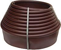 """Садовый бордюр """"Екобордюр"""" тип3 (10м) коричневый"""